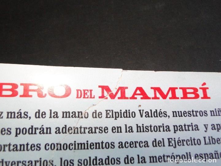 Libros de segunda mano: EL LIBRO DEL MAMBÍ.- JUAN PADRÓN - Foto 22 - 212690368