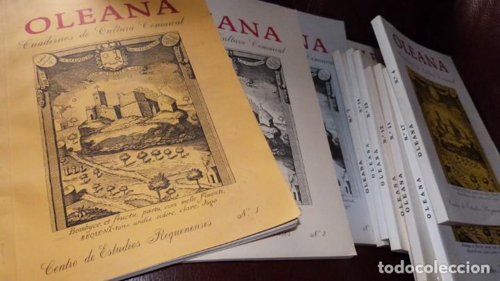 Libros de segunda mano: OLEANA. CUADERNOS DE CULTURA COMARCAL,CENTRO ESTUDIOS REQUENENSES- 11 NUMEROS, - Foto 2 - 212691716