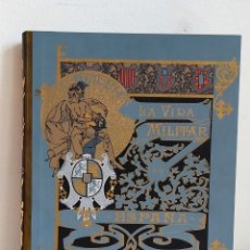Libros de segunda mano: LA VIDA MILITAR EN ESPAÑA. DIBUJOS DE JOSÉ CUSACHS. FIRMADO POR JOSÉ MENA AGUADO. Lote 212700316