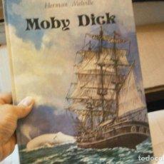 Libros de segunda mano: MOBY DICK AÑOS 70 GRAN TAMAÑO DE HERMAN MELVILLE¡¡. Lote 212728123
