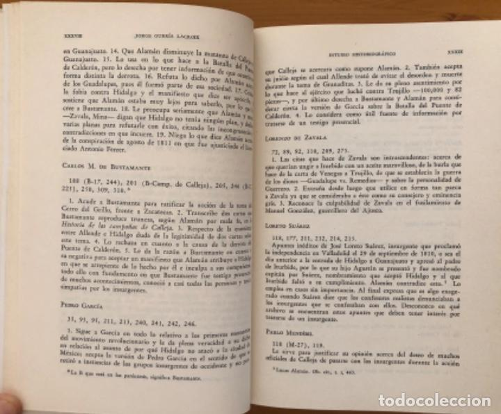 Libros de segunda mano: MEXICO- MEMORIAS PARA LA HISTORIA DE LAS REVOLUCIONES - ANASTASIO ZERECERO- 1975 - Foto 5 - 212776472