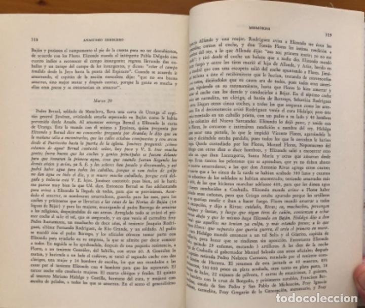 Libros de segunda mano: MEXICO- MEMORIAS PARA LA HISTORIA DE LAS REVOLUCIONES - ANASTASIO ZERECERO- 1975 - Foto 8 - 212776472