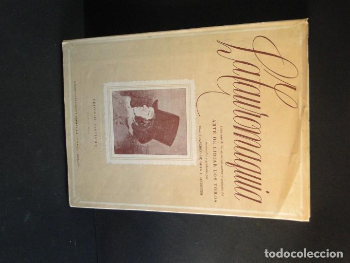 Libros de segunda mano: LA TAUROMAQUIA. Colección de las diferentes suertes y actitudes del arte de lidiar con los toros. - Foto 2 - 212781361