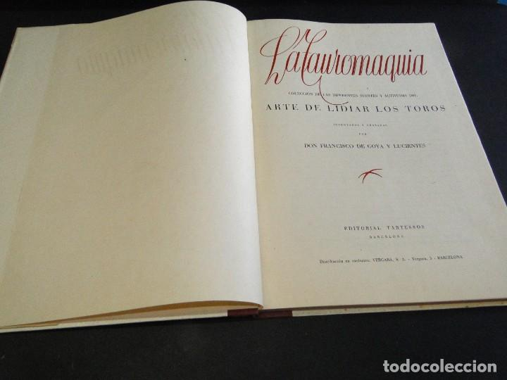 Libros de segunda mano: LA TAUROMAQUIA. Colección de las diferentes suertes y actitudes del arte de lidiar con los toros. - Foto 3 - 212781361