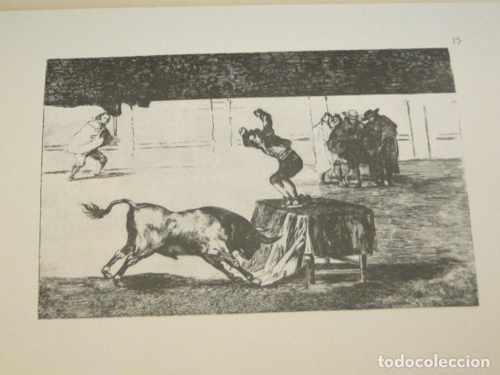 Libros de segunda mano: LA TAUROMAQUIA. Colección de las diferentes suertes y actitudes del arte de lidiar con los toros. - Foto 8 - 212781361