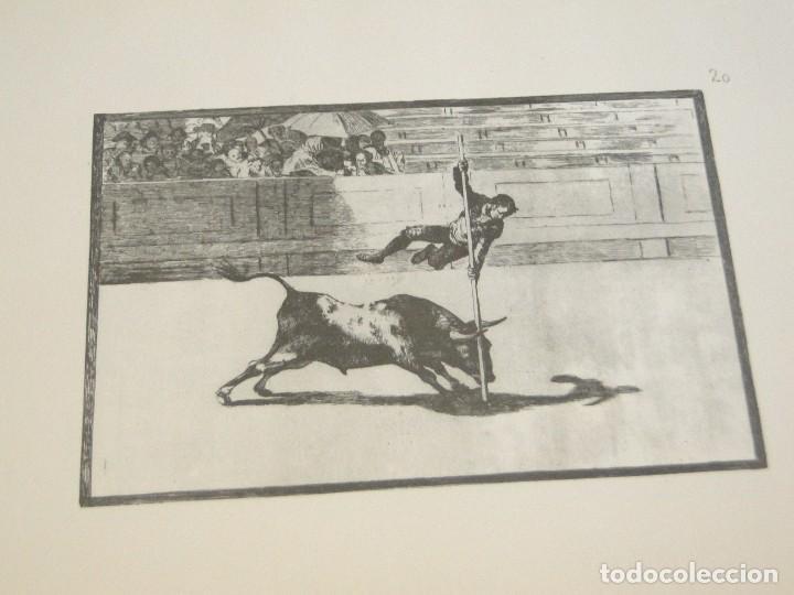 Libros de segunda mano: LA TAUROMAQUIA. Colección de las diferentes suertes y actitudes del arte de lidiar con los toros. - Foto 9 - 212781361