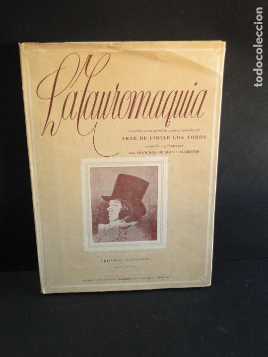 LA TAUROMAQUIA. COLECCIÓN DE LAS DIFERENTES SUERTES Y ACTITUDES DEL ARTE DE LIDIAR CON LOS TOROS. (Libros de Segunda Mano - Bellas artes, ocio y coleccionismo - Otros)