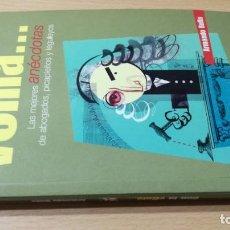 Libros de segunda mano: CON LA VENIA - ARMANDO BULLA - ANECDOTAS ABOGADOS PICAPLEITOS LEGULEYOS W101. Lote 212814770