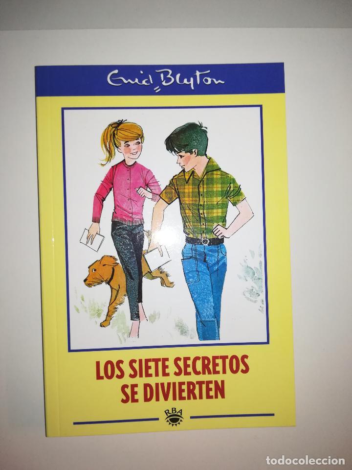 LOS SIETE SECRETOS SE DIVIERTEN (ENID BLYTON) (RBA COLECCIONABLE) (Libros de Segunda Mano - Literatura Infantil y Juvenil - Otros)