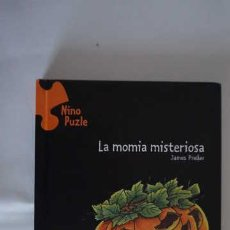 Libros de segunda mano: NINO PUZLE LA MOMIA MISTERIOSA NUMERO 8, EDELVIVES, ISBN 8426355463, 9788426355461. Lote 212889032