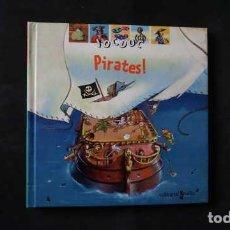 Libros de segunda mano: PIRATES , JOCDOC, EDITORIAL CRUILLA, ISBN 8466106537, 9788466106535. Lote 212902178