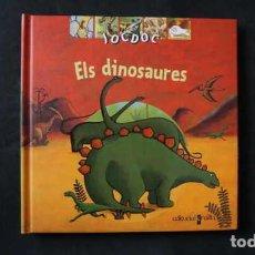 Libros de segunda mano: ELS DINOSAURES, JOCDOC, EDITORIAL CRUILLA, ISBN 8466106561, 9788466106566. Lote 212902670