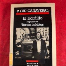 Livres d'occasion: EL BORDILLO. Lote 212959073