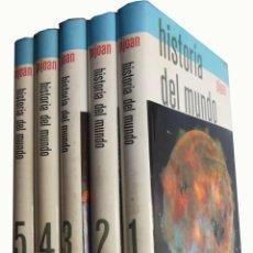 Libros de segunda mano: HISTORIA DEL MUNDO (COMPLETO: 5 TOMOS) PIJOAN. 1965. Lote 213006043