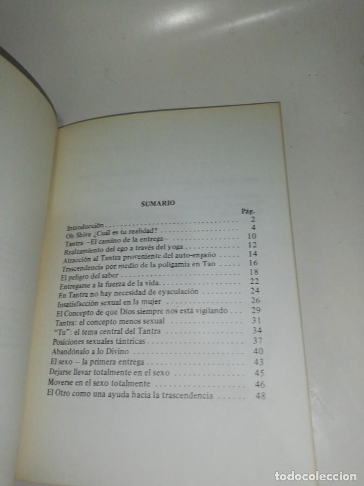 Libros de segunda mano: Osho - introducción al mundo del tantra - Foto 3 - 213031248