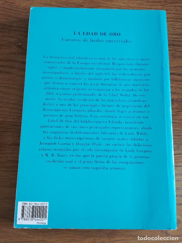 Libros de segunda mano: CUENTOS POPULARES IRLANDESES (LADY WILDE / J. CURTIN / D. HYDE / W.B. YEATS / LADY GREGORY) - Foto 6 - 213076871