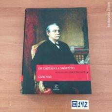 Libros de segunda mano: DE CARTAGO A SAGUNTO. Lote 213118492