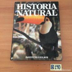 Libros de segunda mano: HISTORIA NATURAL. Lote 213120803