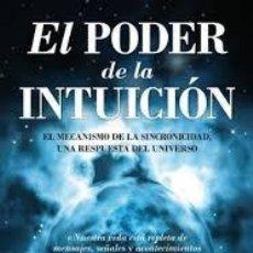 Libri di seconda mano: EL PODER DE LA INTUICIÓN DAVID TOPÍ. Lote 213194415