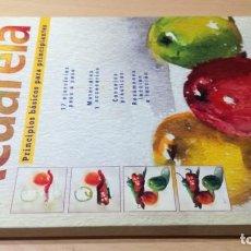 Libros de segunda mano: ACUARELA PRINCIPIOS BASICOS PARA PRINCIPIANTES - ATRIUM W403. Lote 213240216