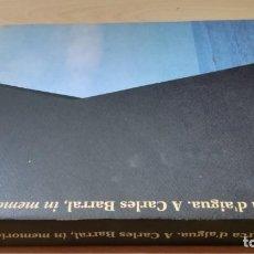 Libros de segunda mano: MARCA D'AIGUA - ESCULTURA DE SERGI AGUILAR - PORT DE TARRAGONA W403. Lote 213251105