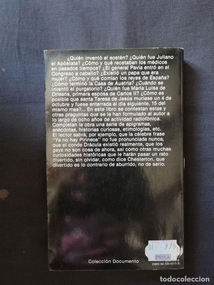 Libros de segunda mano: HISTORIAS DE LA HISTORIA - CARLOS FISAS - Foto 2 - 213275677
