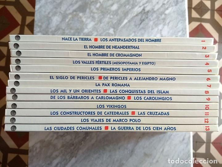 Libros de segunda mano: Érase una vez... el HOMBRE (Planeta DeAgostini, completa, 26 tomos) Muy buen estado - Foto 2 - 213282151
