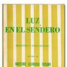 Libros de segunda mano: LUZ EN EL SENDERO MABEL COLINS -TEOSOFÍA-. Lote 297071983
