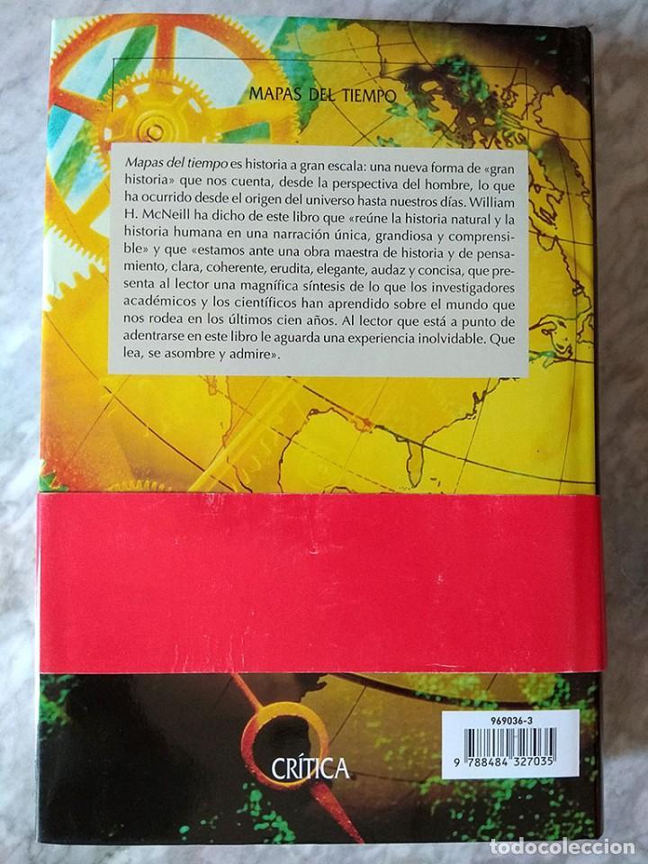 Libros de segunda mano: David Christian: Mapas del tiempo. Introducción a la «gran historia» (editorial Crítica, nuevo) - Foto 3 - 213303931