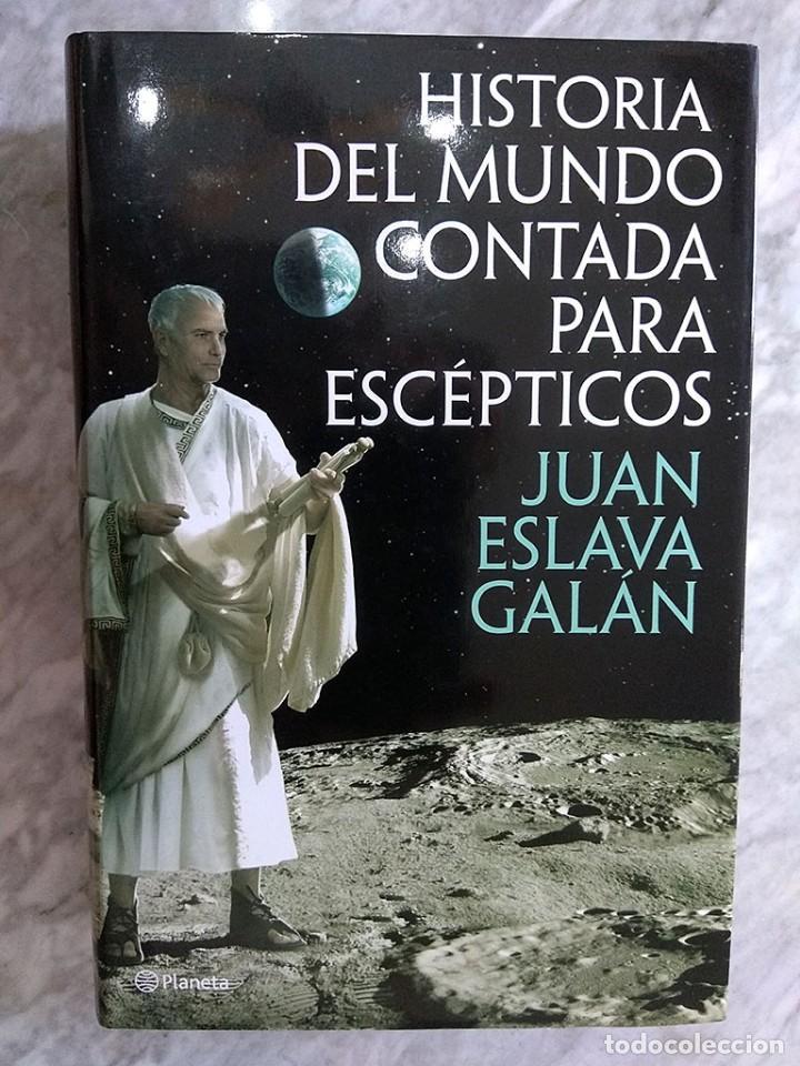 Libros de segunda mano: Lote 5 libros historia universal Juan Eslava Galán mundo escépticos Yuval Noah Harari sapiens Zweig - Foto 5 - 213324556