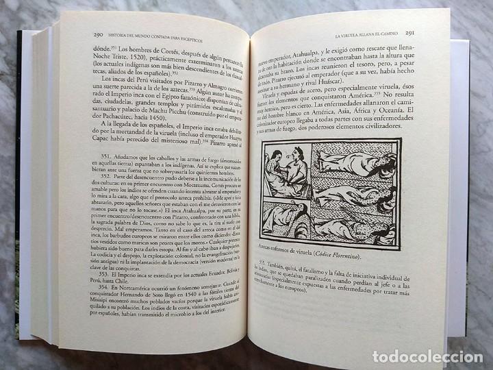 Libros de segunda mano: Lote 5 libros historia universal Juan Eslava Galán mundo escépticos Yuval Noah Harari sapiens Zweig - Foto 7 - 213324556