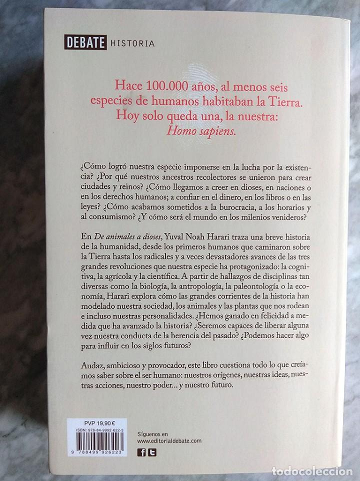 Libros de segunda mano: Lote 5 libros historia universal Juan Eslava Galán mundo escépticos Yuval Noah Harari sapiens Zweig - Foto 12 - 213324556