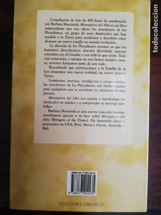 Libros de segunda mano: MENSAJEROS DEL ALBA. - BÁRBARA MARCINIAK - Foto 5 - 213401173