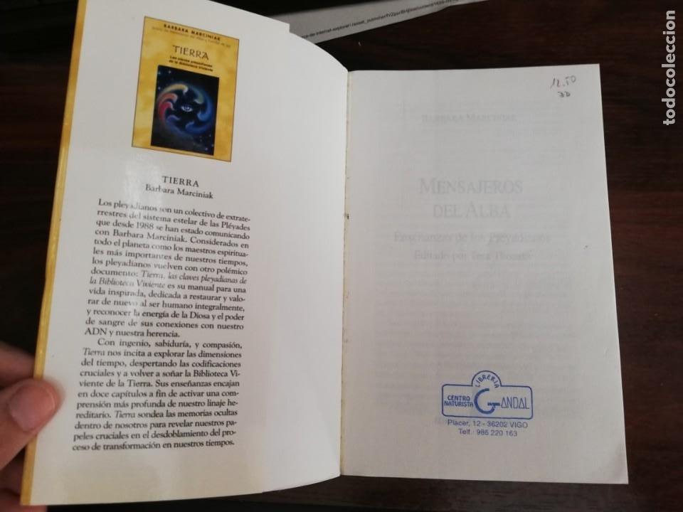 Libros de segunda mano: MENSAJEROS DEL ALBA. - BÁRBARA MARCINIAK - Foto 2 - 213401173