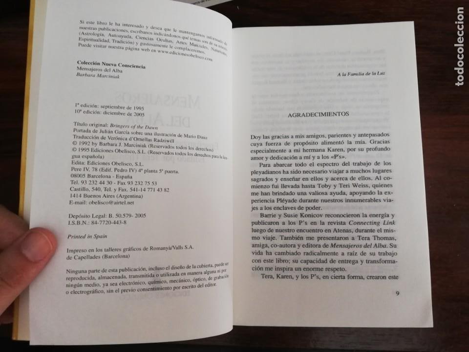 Libros de segunda mano: MENSAJEROS DEL ALBA. - BÁRBARA MARCINIAK - Foto 4 - 213401173