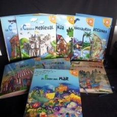Libros de segunda mano: 9 POP UP DE LA COLECCION LIBROS PARA JUGAR - SANTILLANA EDICIONES EN 3D 2008. Lote 213415713