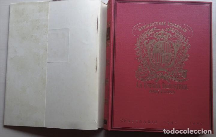 Libros de segunda mano: La España Industrial 1847-1947, Libro del Centenario de la España Inds. de Barcelona - Foto 5 - 213423307