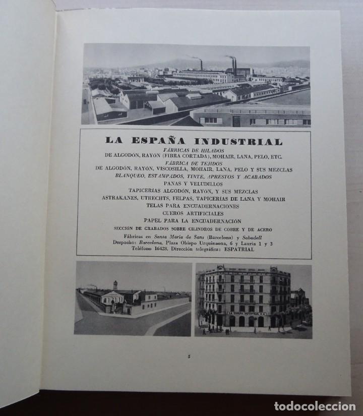 Libros de segunda mano: La España Industrial 1847-1947, Libro del Centenario de la España Inds. de Barcelona - Foto 7 - 213423307
