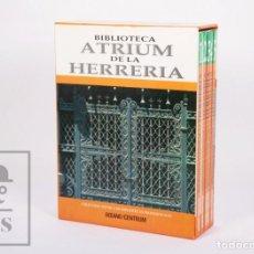 Libros de segunda mano: COLECCIÓN DE 5 TOMOS / LIBROS - ATRIUM DE LA HERRERÍA - OCÉANO / CENTRUM, 1994. Lote 213546385