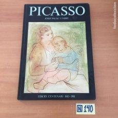 Libros de segunda mano: PICASSO. EDICIO CENTENARI 1881-1981. Lote 213547268