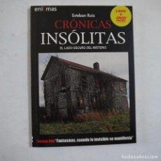 Livres d'occasion: ENIGMAS N.º 2. CRÓNICAS INSÓLITAS - LIBRO+DVD FANTASMAS, CUANDO LO INVISIBLE SE MANIFIESTA. Lote 213550077