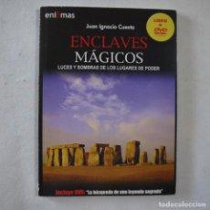 Livres d'occasion: ENIGMAS N.º 5. ENCLAVES MÁGICOS - LIBRO+DVD LA BÚSQUEDA DE UNA LEYENDA SAGRADA - JUAN IGNACIO CUESTA. Lote 213550546