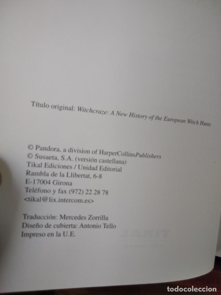 Libros de segunda mano: LA CAZA DE LAS BRUJAS-HISTORIA DE UN HOLOCAUSTO-ANNE LEWELLYN BARSTOW-TIKAL - Foto 7 - 213565747