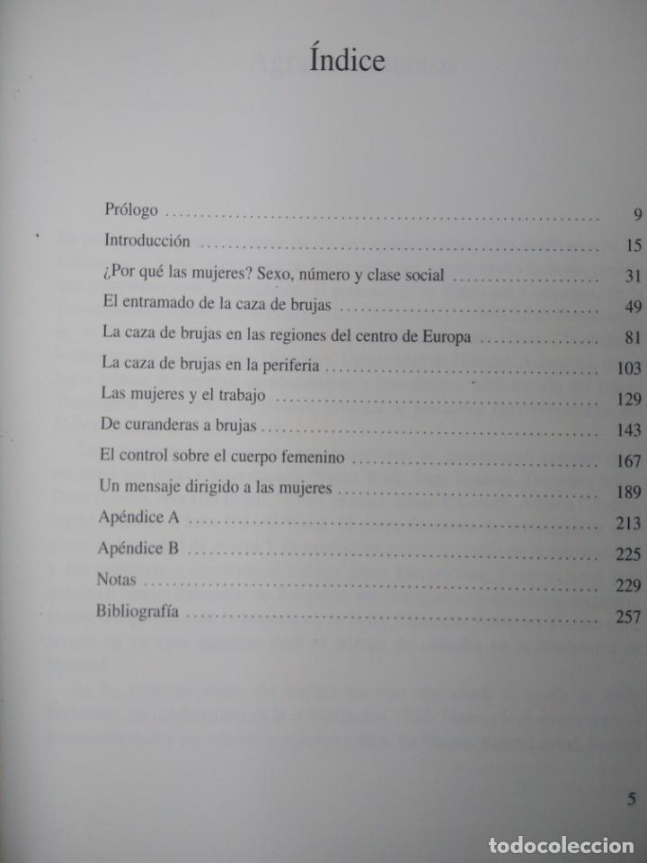 Libros de segunda mano: LA CAZA DE LAS BRUJAS-HISTORIA DE UN HOLOCAUSTO-ANNE LEWELLYN BARSTOW-TIKAL - Foto 8 - 213565747