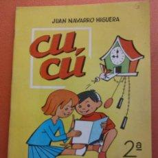 Libros de segunda mano: CUCÚ. 2ª PARTE. JUAN NAVARRO HIGUERA. EDITORIAL MIGUEL A. SALVATELLA. Lote 213627548