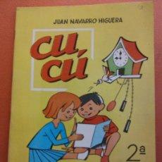 Libros de segunda mano: CUCÚ. 2ª PARTE. JUAN NAVARRO HIGUERA. EDITORIAL MIGUEL A. SALVATELLA. Lote 213627563