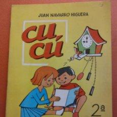Libros de segunda mano: CUCÚ. 2ª PARTE. JUAN NAVARRO HIGUERA. EDITORIAL MIGUEL A. SALVATELLA. Lote 213627585