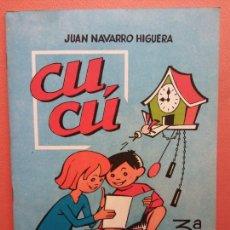 Libros de segunda mano: CUCÚ. 3ª PARTE. JUAN NAVARRO HIGUERA. EDITORIAL MIGUEL A. SALVATELLA. Lote 213627636