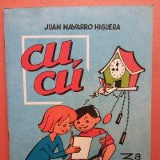 Libros de segunda mano: CUCÚ. 3ª PARTE. JUAN NAVARRO HIGUERA. EDITORIAL MIGUEL A. SALVATELLA. Lote 213627712
