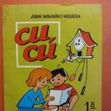 Libros de segunda mano: CUCÚ. 1ª PARTE. JUAN NAVARRO HIGUERA. EDITORIAL MIGUEL A. SALVATELLA. Lote 213627751